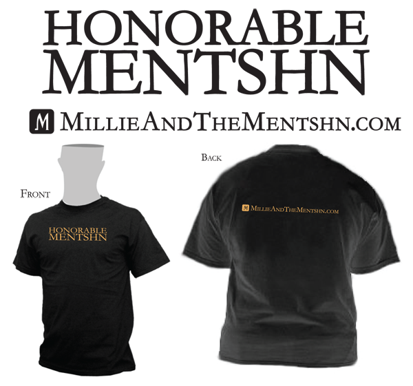 Millie and the Mentshn T-Shirts